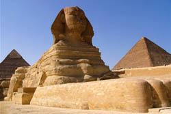 Giza Plateau - Sphinx & Pyramids